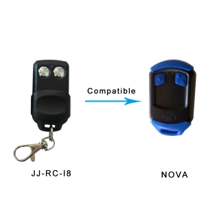 Compatible garage gate remote NOVA