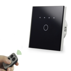 1way timer touch switch with remote control